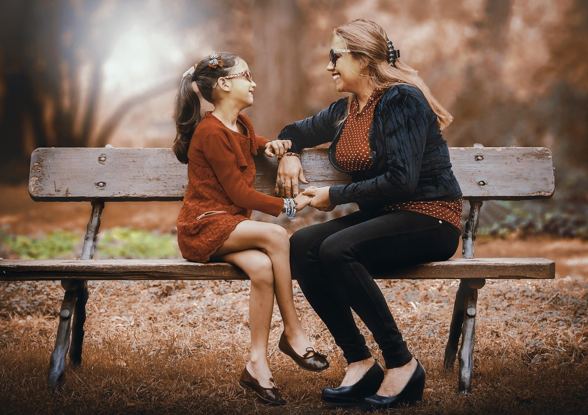 Moeder geeft dochter leuke tijd