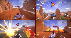 Garfield Kart Furious Racing voor Nintento switch review