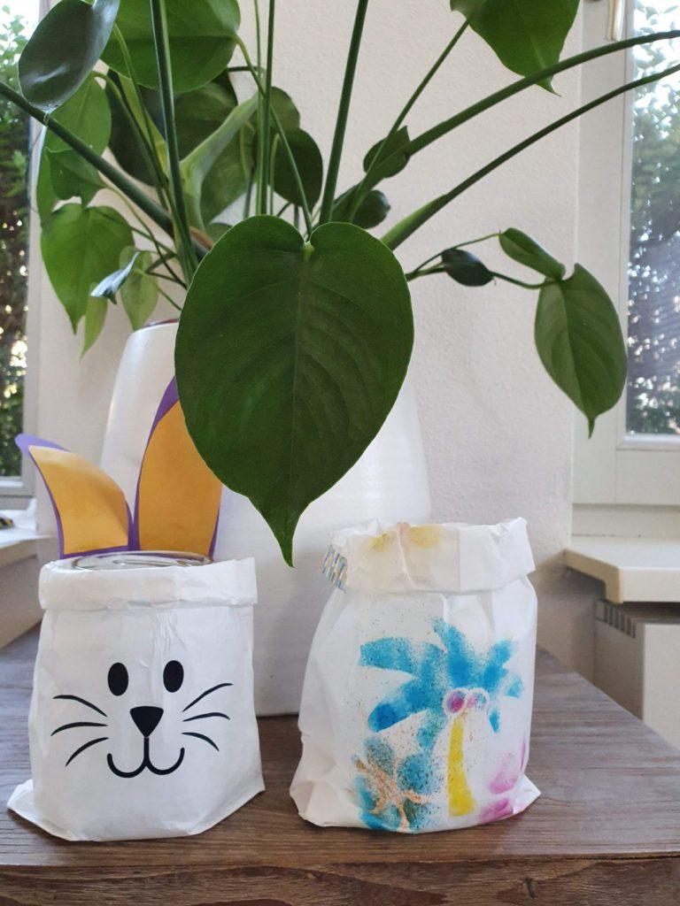 Pasen DIY en Paasknutsels voor kinderen broodzak