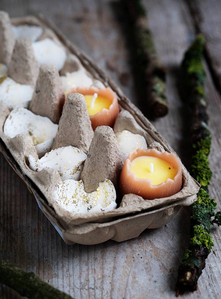 Pasen DIY en Paasknutsels voor kinderen eieren met glitters