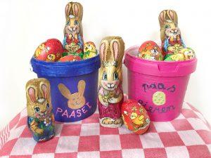 Pasen DIY en Paasknutsels voor kinderen paasei emmers