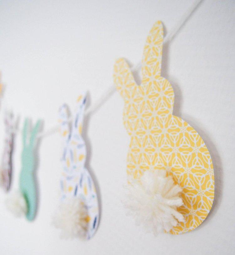 Pasen DIY en Paasknutsels voor kinderen paasslinger DIY