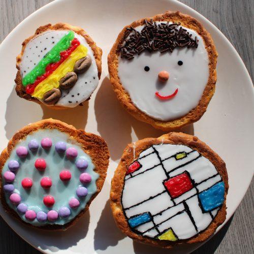 Recept Amerikaner koekjes maken met kinderen