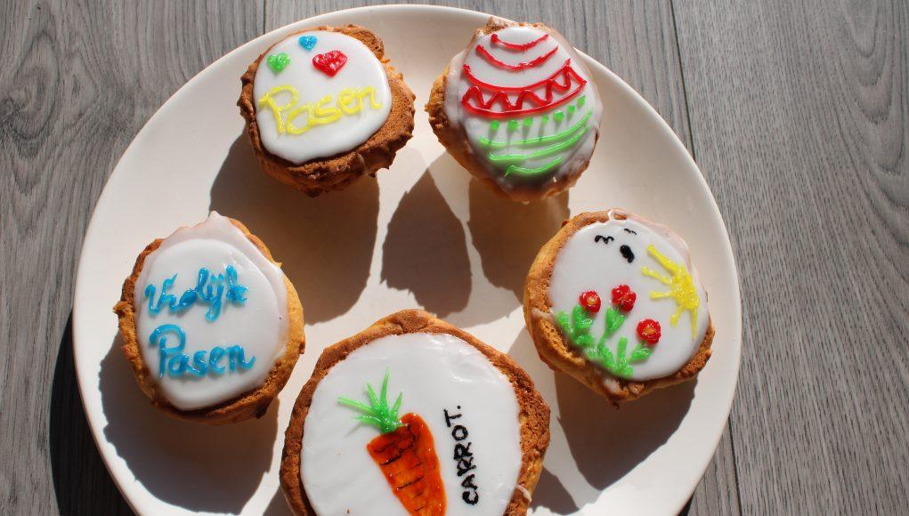 Recept Amerikaner koekjes maken met kinderen pasen