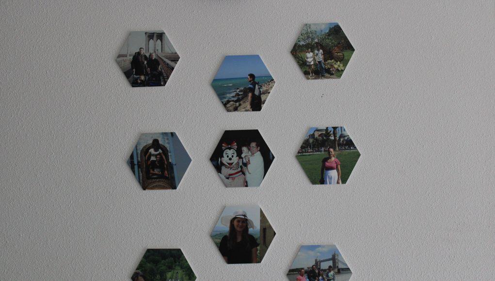 Dit jaar niet op vakantie, maar wel mooie herinneringen aan de muur
