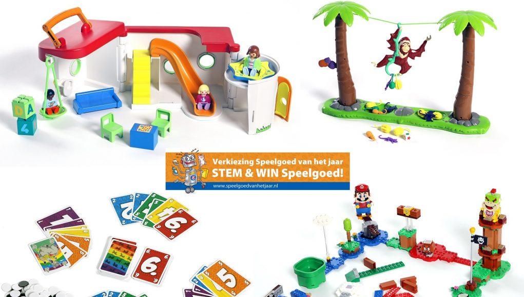Verkiezing Speelgoed van het Jaar 2020