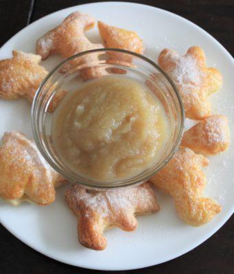 Bakken met peuters makkelijke en snelle koekjes