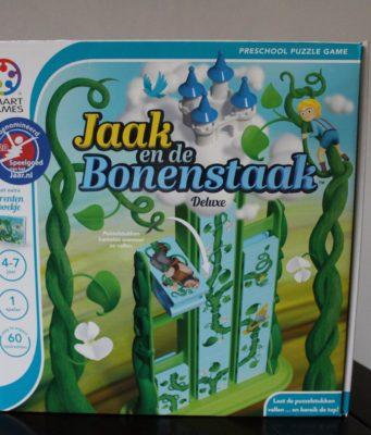 Cadeautip voor kleuters Jaak en de Bonenstaak puzzelgame
