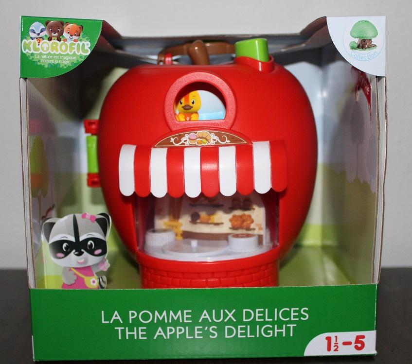 Cadeautip voor peuters Klorofil Verrukkelijke Appel in verpakking