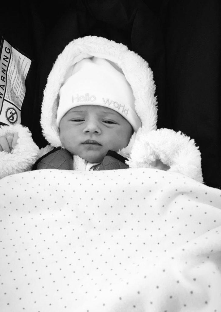De bevalling van Xenia mijn baby