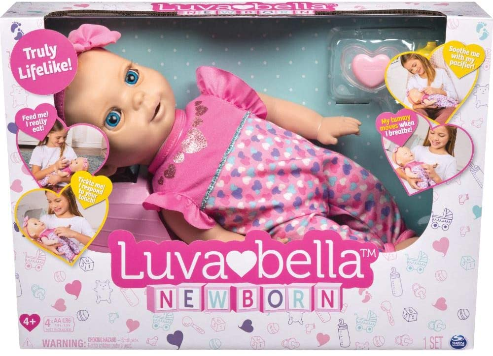 Dit zijn de leukste poppen voor jongens en meisjes vanaf 1 jaar luvabella pop