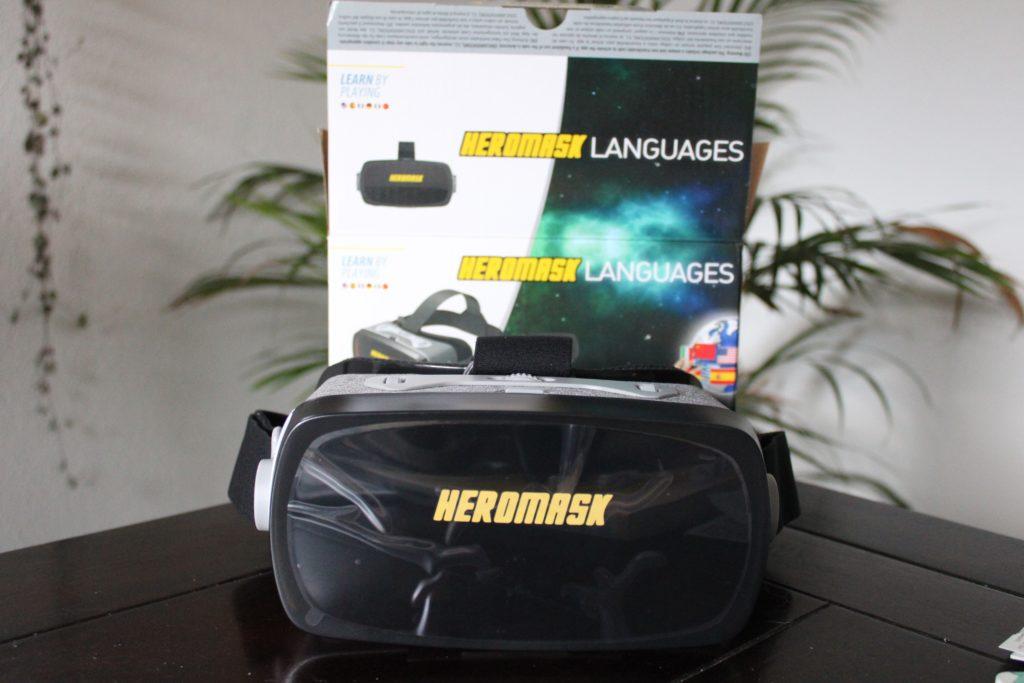 Spelenderwijs een nieuwe taal leren met Heromask uitgepakt