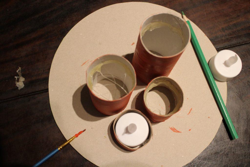 DIY Kaarsen maken met kinderen binnenkant