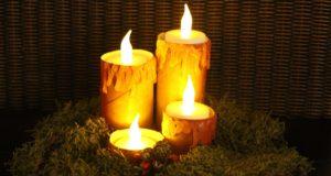 DIY Kaarsen maken met kinderen donker