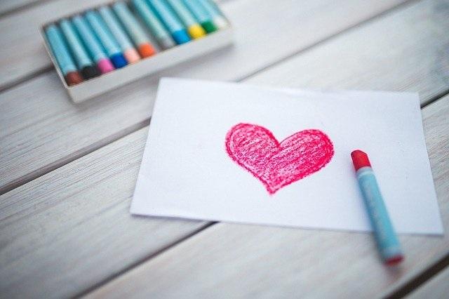 Valentijn tips voor kinderen tekenen