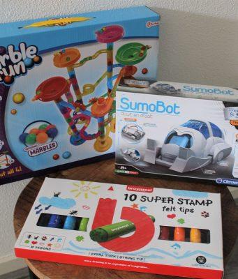Creatieve spelletjes voor kinderen van 3 – 12 jaar