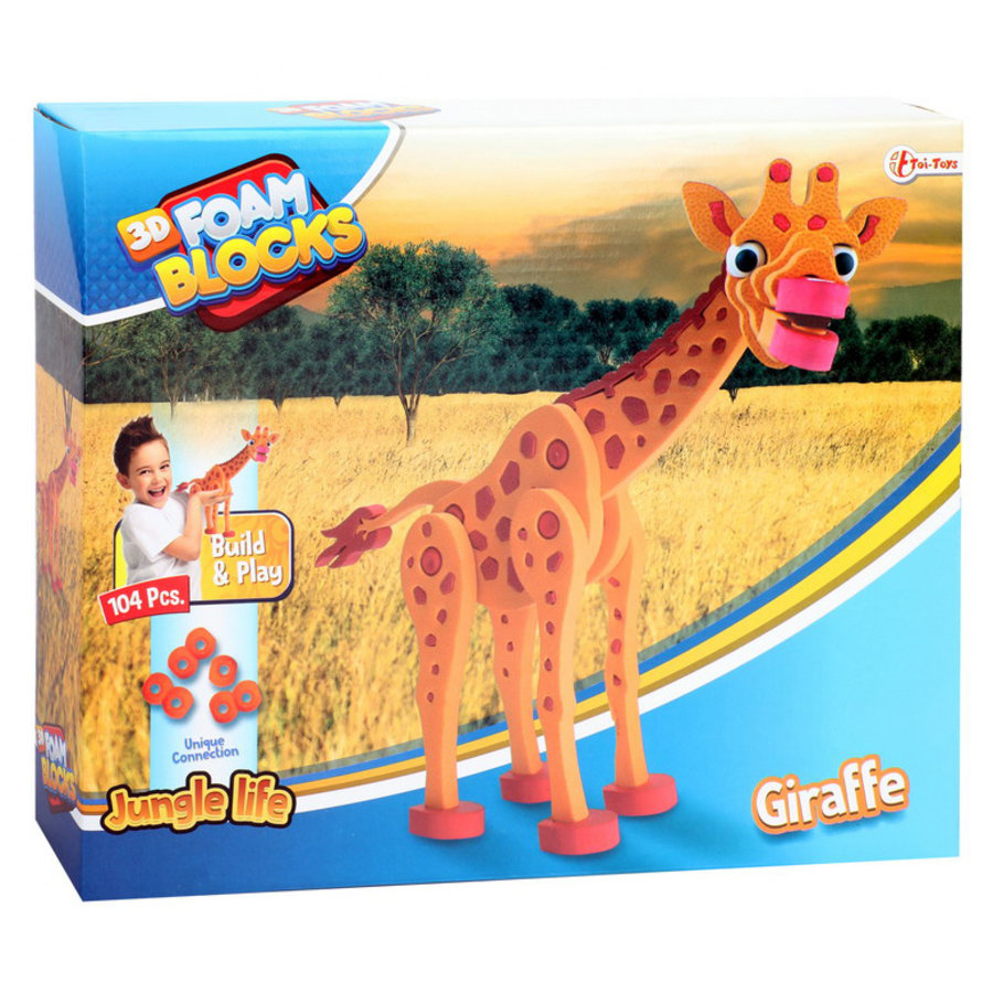 Creatieve spelletjes voor kinderen van 3 – 12 jaar 3D constructiefoam