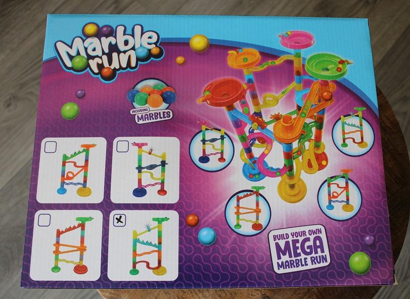 Creatieve spelletjes voor kinderen van 3 – 12 jaar knikkerbaan