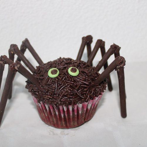 Recept spinnen muffins chocolade cupcakes